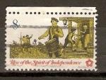 Stamps United States -  TAMBORILERO