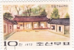 Stamps Asia - North Korea -  casas tipicas