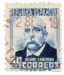 Sellos del Mundo : Europa : España : República Española Emilio Castelar