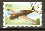Stamps Cuba -  CURTISS   P - 40