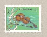 Stamps Austria -  Violín