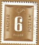 Stamps Hungary -  VALOR NUMERAL