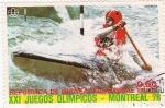 Sellos de Africa - Guinea Ecuatorial -  XXI juegos Olimpicos-MONTREAL-76
