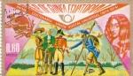 Stamps Equatorial Guinea -  primer centenario union postal universal(1874-1974)