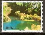 Sellos de Asia - China -  LAGO   WUHUA