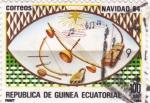 Stamps Equatorial Guinea -  Navidad 84