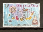 Stamps Spain -  ISLAS   CANARIAS