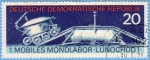 Stamps : Europe : Germany :  Mobiles Mondlabor - Lunochod