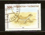 Sellos del Mundo : Asia : Tayikistán : ALSOPHYLAX   LORICATUS