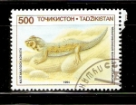 Stamps Tajikistan -  TERATOSCINCUS   SCINEUS