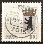 Sellos de Europa - Alemania -  Escudo de Berlín