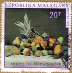 Stamps : Africa : Madagascar :  Frutas de Madagascar