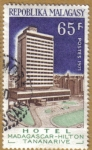 Stamps Africa - Madagascar -  Hotel MADAGASCAR-HILTON TANANARIVE