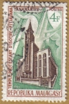 Stamps Africa - Madagascar -  Templo protestante D'ISOTRY-FITIAVANA, TANANARIVE
