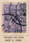Stamps Belgium -  R. Leopoldo I Ed 1884
