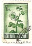 Stamps : America : Argentina :  Girasol
