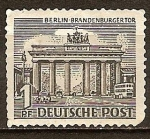 Sellos de Europa - Alemania -  La Puerta de Brandeburgo.