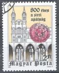 Sellos del Mundo : Europa : Hungría : 800 años de la tumba de la Abadía.