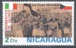 Stamps America - Nicaragua -  Momentos de gloria. Copa Mundial de 1934.