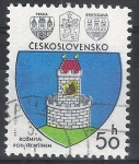 Stamps : Europe : Czechoslovakia :  Escudos. Castillo.