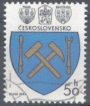 Stamps : Europe : Czechoslovakia :  Escudos.Martillos.