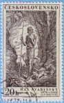 Stamps : Europe : Czechoslovakia :  Max Svabinsky
