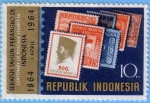Stamps : Asia : Indonesia :  Centenary of Postage Stamps in Indonesia (1)