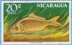 Stamps Nicaragua -  Carpa