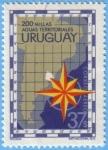 Stamps : America : Uruguay :  200 millas Aguas Territoriales