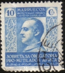 Stamps Africa - Morocco -  Fco. FRANCO