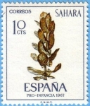 Stamps : Europe : Spain :  Sahara Pro-Infancia