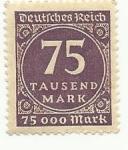 Stamps : Europe : Germany :  Estampilla