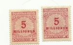 Stamps : Europe : Germany :  Deuttfches Reich
