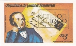 Stamps Equatorial Guinea -  Rowland Hill -London 1980