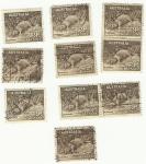 Stamps Australia -  Australia postage 9d Platypus