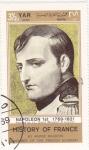 Sellos de Asia - Yemen -  HISTORIA DE FRANCIA-  Napoleón 1769-1821