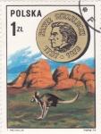 Sellos de Europa - Polonia -  Pawet Strzelecki 1797-1873 explorador y geologo