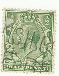 Stamps : Oceania : Australia :   Edward VII Halfpenny