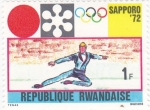Sellos de Africa - Rwanda -  Olimpiada de Sapporo 1972