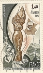 Stamps France -  X Festival internationale du film de tourisme