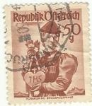 """Stamps : Europe : Austria :  Republik Ofterreich """"AUSTRIA"""""""