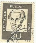 Stamps Germany -  BUNDES POST