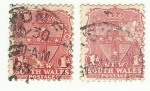 Stamps Australia -  NEW SOUTH WALES POSTAGE