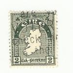 Stamps : Europe : Ireland :  Estampilla eire