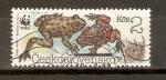 Stamps Czechoslovakia -  BOMBINA   BOMBINA