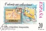Stamps Spain -  el sello compañero inseparable