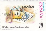 Stamps Spain -  el sello compañero inseparable