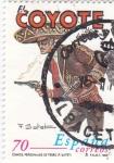 Stamps Spain -  personajes de tebeo- el coyote