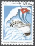 Stamps Cuba -  40 Aniversario Desembarco del Granma