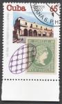 Sellos de America - Cuba -  145 Aniversario del primer sello Cubano